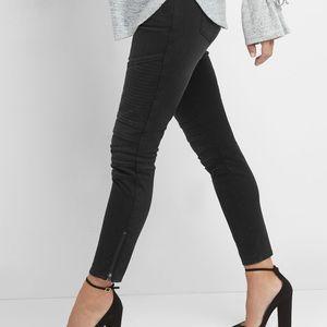 New Gap Maternity Moto inset panel skinny jeans